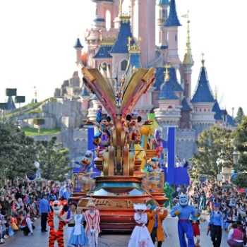 Disney Star on Parade